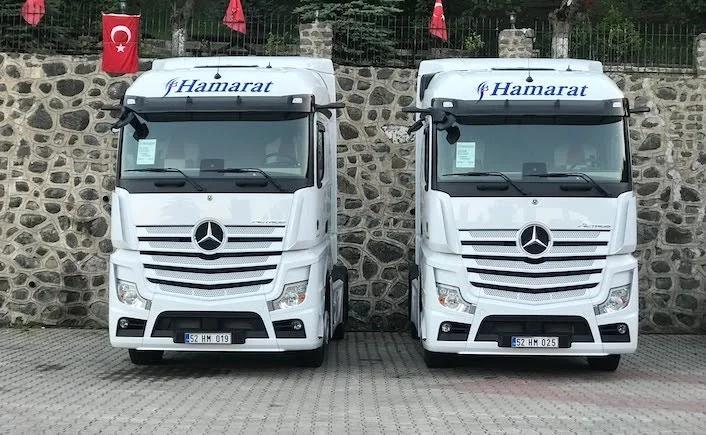 Hamarat Transport filosunu Mercedes ile büyüttü